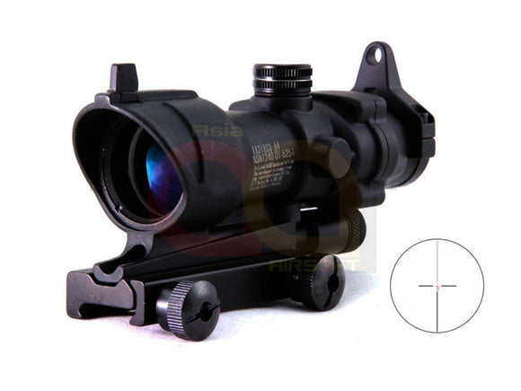 [CN Made] 4x32 B Tactical ACOG Clone Red Illuminated CrossHair Rifle Scope