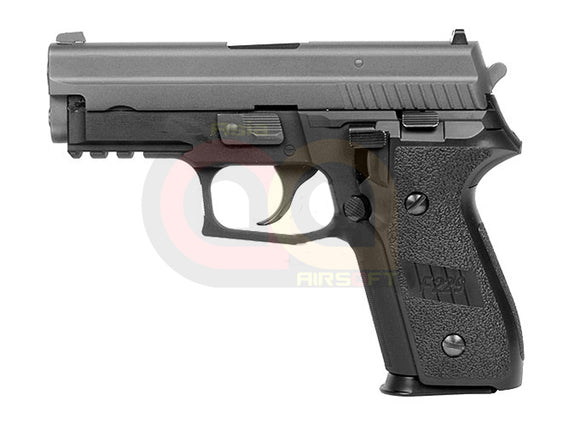 [WE] Fully Metal F229 Railed GBB Airsoft Pistol [BLK]