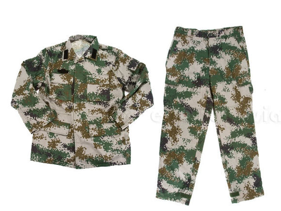 [Combat Gear] Woodland BDU [Chinese PLA / 2007 Ver.][XLarge]