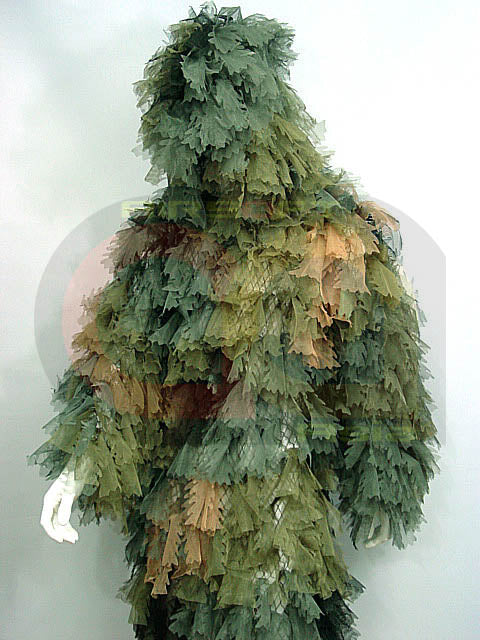 Hunting Airsoft Painting 1pc Ghillie Suit Camo Woodland