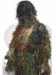 Hunting Airsoft 1pc Ghillie Suit Mossy Camo Woodland