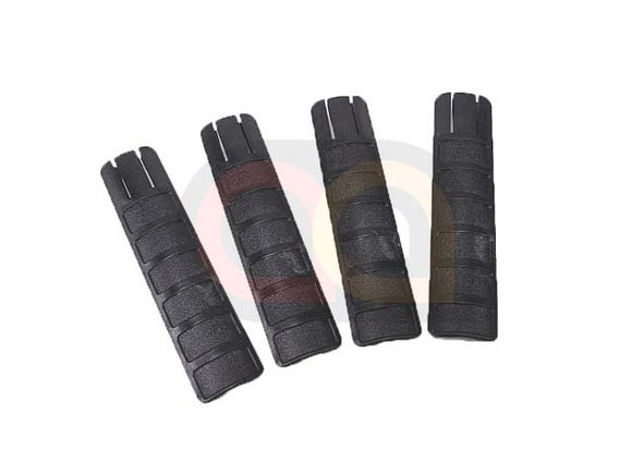 [Energy] TD Battle Grip Type Rail Cover Panel 4pcs Set[BLK]