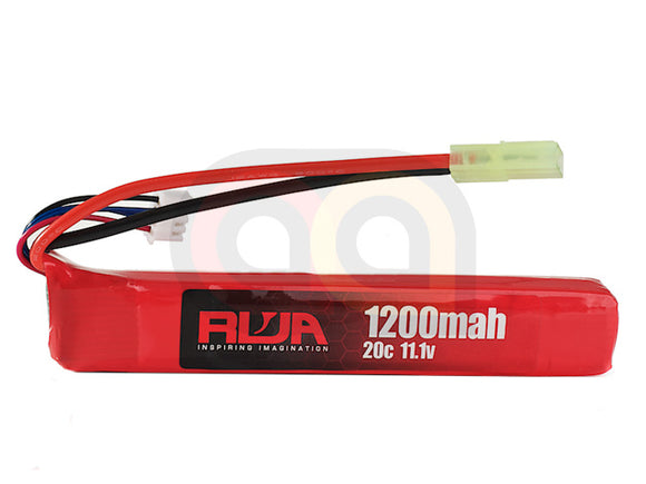 [RWA] 11.1V 1200mAh (20C) LiPo Rechargeable Battery (Small Tamiya)