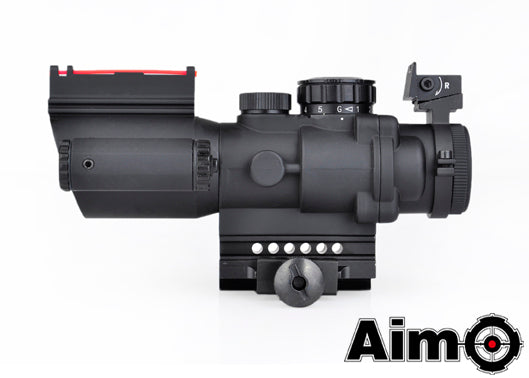 [AIM-O] Sniper LT 4X32 Red/Green Dot[BLK]