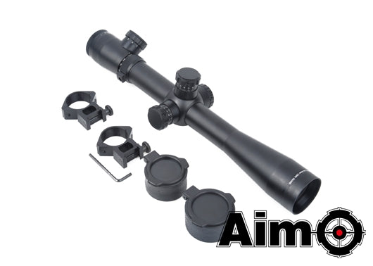 [AIM] 3.5-10 x 40E-SF[Red/Green Reticle][BLK]