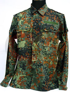 German SWAT Camo Woodland BDU Uniform Shirt Pants S