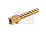 [RA-Tech]CNC Brass Outer Barrel for WE G17 GBB[Gold]
