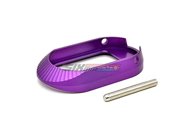 [AIP] Aluminum Magwell[Type 3][Purple][ No marking]