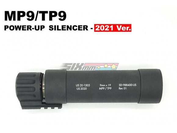 [Angry Gun] Dummy Power-Up Suppressor/Silencer[2021 Ver.][For KWA/KSC MP9 GBB Series]