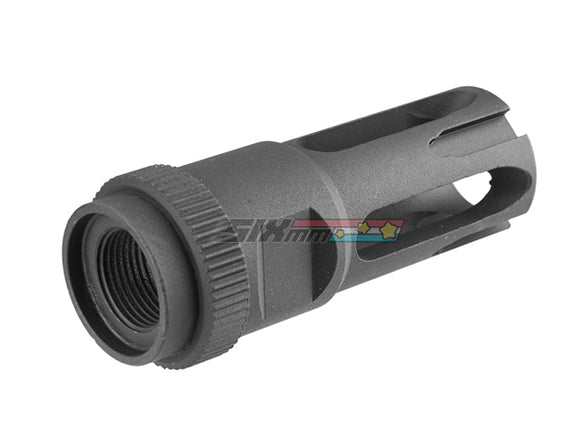 [ARES] M16 Aluminum Flash Hider [14mm CW] [Type D]