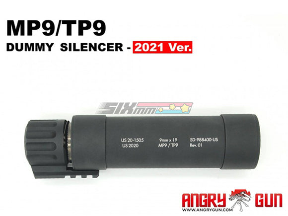 [Angry Gun] Dummy Suppressor/Silencer[2021 Ver.][For KWA/KSC MP9 GBB Series]