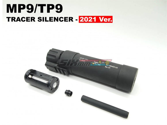 [Angry Gun] Dummy Tracer Suppressor/Silencer[2021 Ver.][For KWA/KSC MP9 GBB Series]