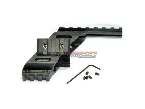 [Army Force] Plastic G17 Rail Mount with Side Rail[For Glock17 GBB Series]