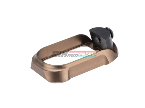 [COWCOW Technology] Tactical Magwell for GLOCK 19 Airsoft GBB Pistols[FDE]