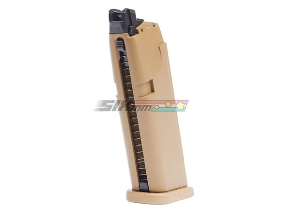 [E&C] Model G19/G23 Airsoft GBB Magazine[20rds][Tan]