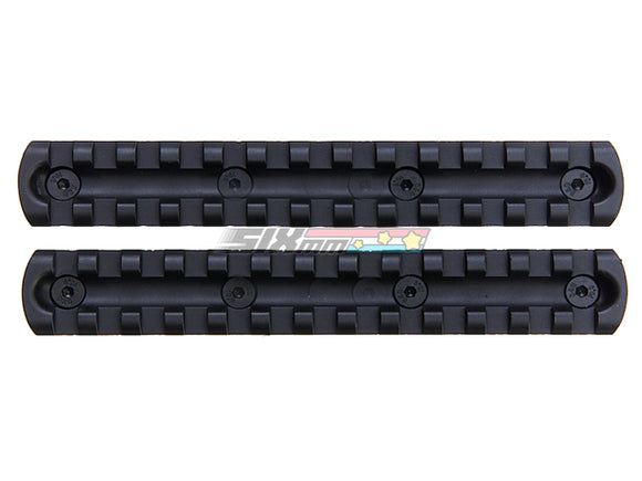 [ARES] 5.5 inch Metal Key Rail System for M-Lok System [2pcs][1Pack]