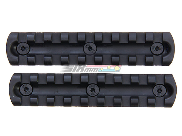 [ARES] 4 inch Metal Key Rail System for M-Lok System [2pcs][Pack]
