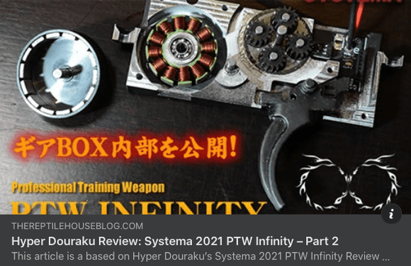 [SYSTEMA] Infinity Gearbox Kit [M130 Cylinder Ver.][2021Ver.]