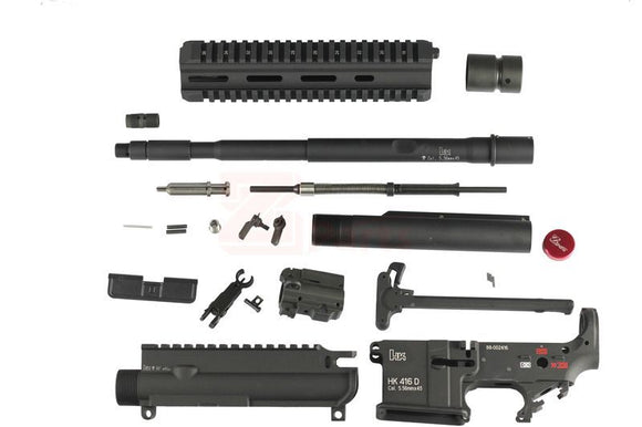 [Z-Parts] Metal HK416 External For SYSTEMA PTW (Blk 14.5