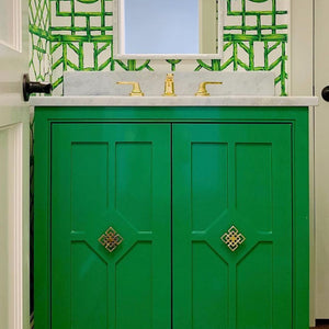 Powder Room Transformation by Dunbar Road Design