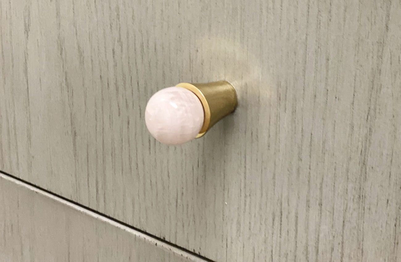 Tanner Custom Knob - Polished Brass