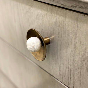 Gibson Custom Knob - Antique Brass