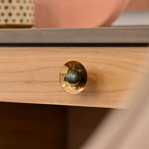 Gibson Custom Knob - Polished Brass