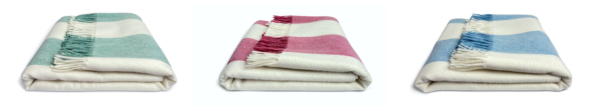Issy Granger | Striped Merino Lambswool Throws