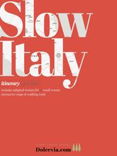 Load image into Gallery viewer, SlowItaly App-book Itinerary LIGURIA V 1.1