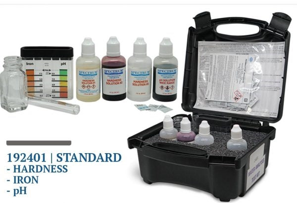 Spectrum Hardness, Iron & pH Test Kit - 192401 | Water Test Kits & Meters | qualitywaterforless.com