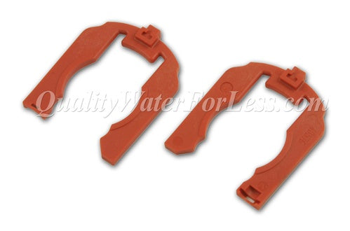 "Fleck Clip, ""H"" Red, Plastic (2-Pack) - 40576 