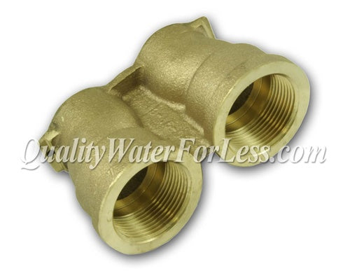 "Fleck Yoke Assembly, 1-1/4"" Brass - 40636 