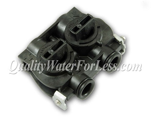 Fleck Bypass Valve Assembly, Noryl Plastic - 60049 | Parts & Accessories | qualitywaterforless.com