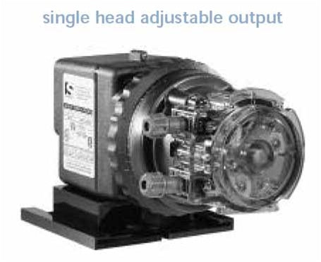 Stenner 85 Series Single Head Adjustable 17 gpd | Chemical Feed Systems | qualitywaterforless.com