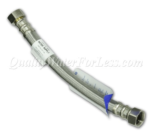 "Lil Q-Wick-E Flexible Connector, 3/4"" Female x 3/4"" Female x 12"" Length - 97112 
