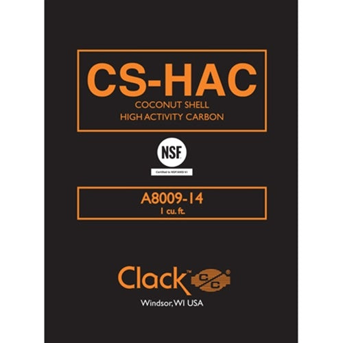 Clack CS-HAC Coconut Shell Carbon 12x40 | Parts & Accessories | qualitywaterforless.com