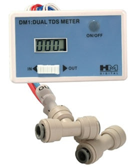 TDS Comparitor, 0-9990 ppm, HM-Digital DM-1 | Reverse Osmosis | qualitywaterforless.com