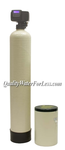 Greensand Filter 1.0 Cu Ft & Fleck 5600SXT Backwashing Valve | Iron/Sulfur Removal | qualitywaterforless.com