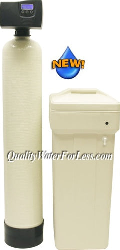 Fleck 7000SXT Meter Water Softener - 48,000 Grain Capacity (Discontinued) | Meter-Demand Softeners | qualitywaterforless.com