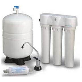 Microline TFC-435 Reverse Osmosis System, 4-Stage w/Monitor (NSF-Rated) | Reverse Osmosis | qualitywaterforless.com
