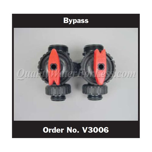 Clack Bypass Assembly, WS1 & WS1.25, V3006 | Parts & Accessories | qualitywaterforless.com