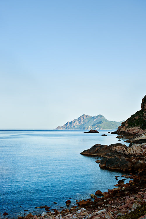 The stunning coastline of Corsica, France blog by Millie Brown