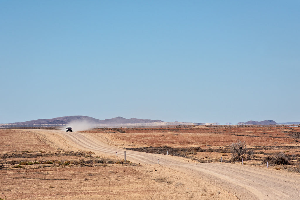 The Oodnadatta track is an iconic outback dirt road in South Australia