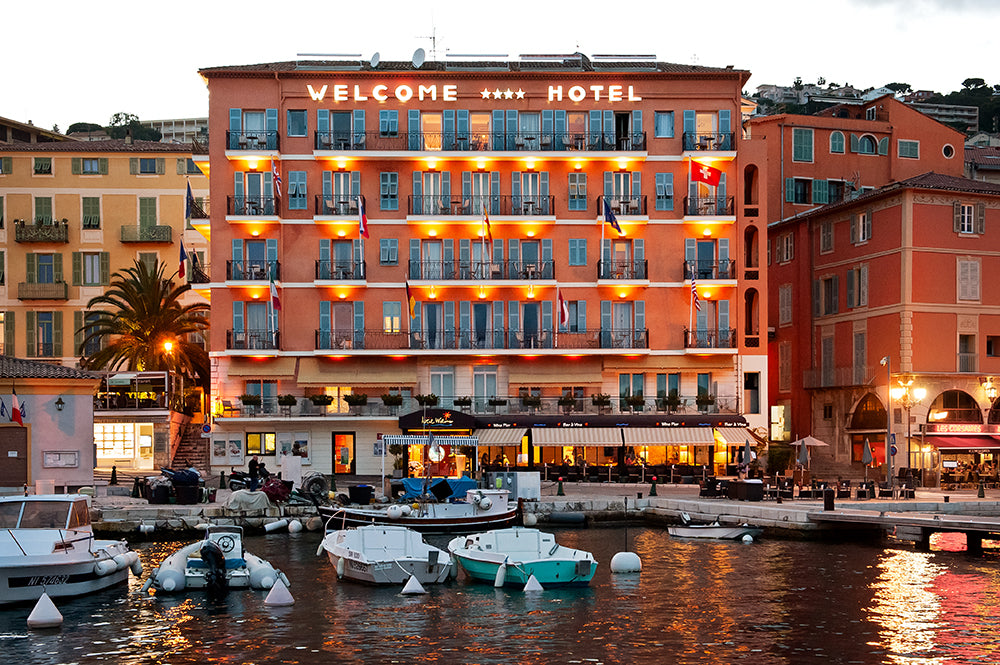 The Welcome Hotel & Jean Cocteau in Villefranche sur Mer, France