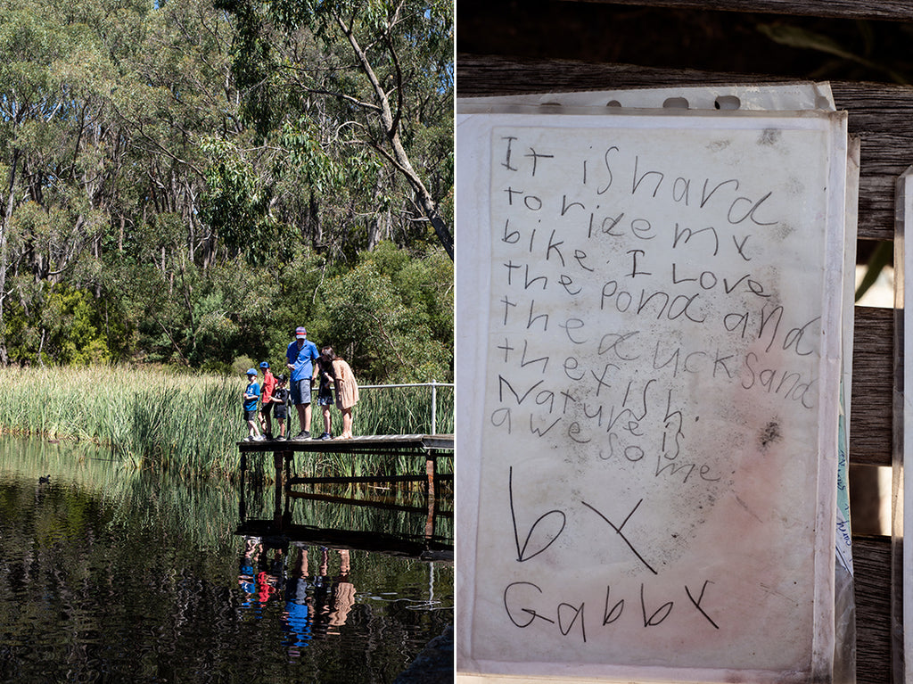 poetry, childrens poems, nature poems, nature, lake, woorabinda lake, stirling, adelaide hills, millie brown, poetry pouch,