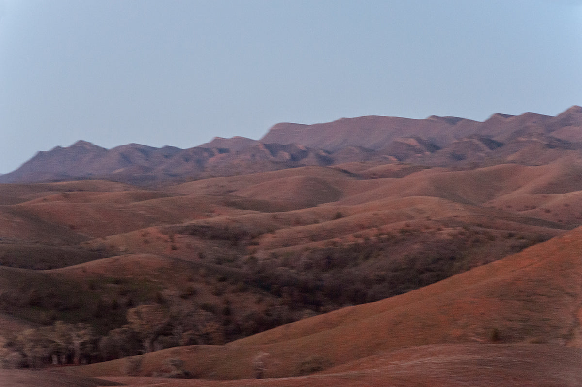 Flinders ranges landscape from stokes hill