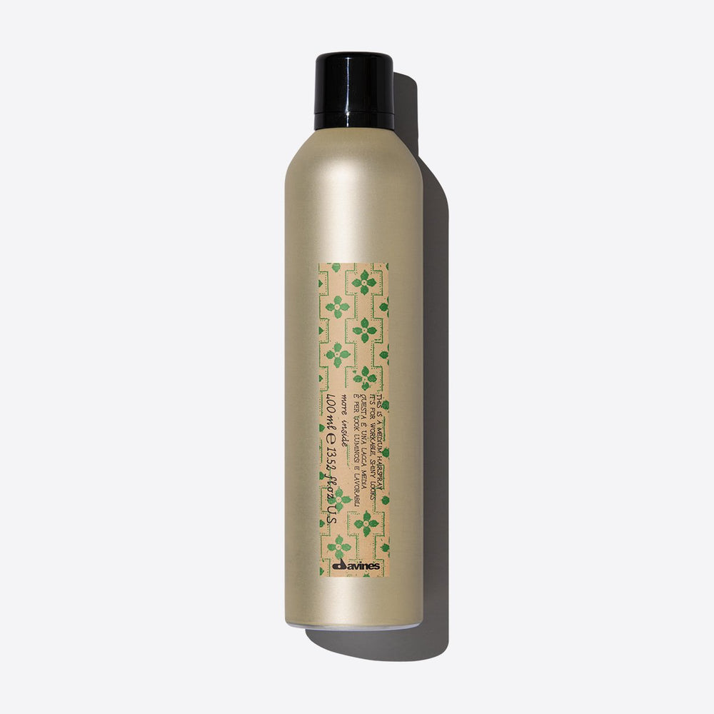 Davines More Inside - Medium Hold Hairspray 400ml