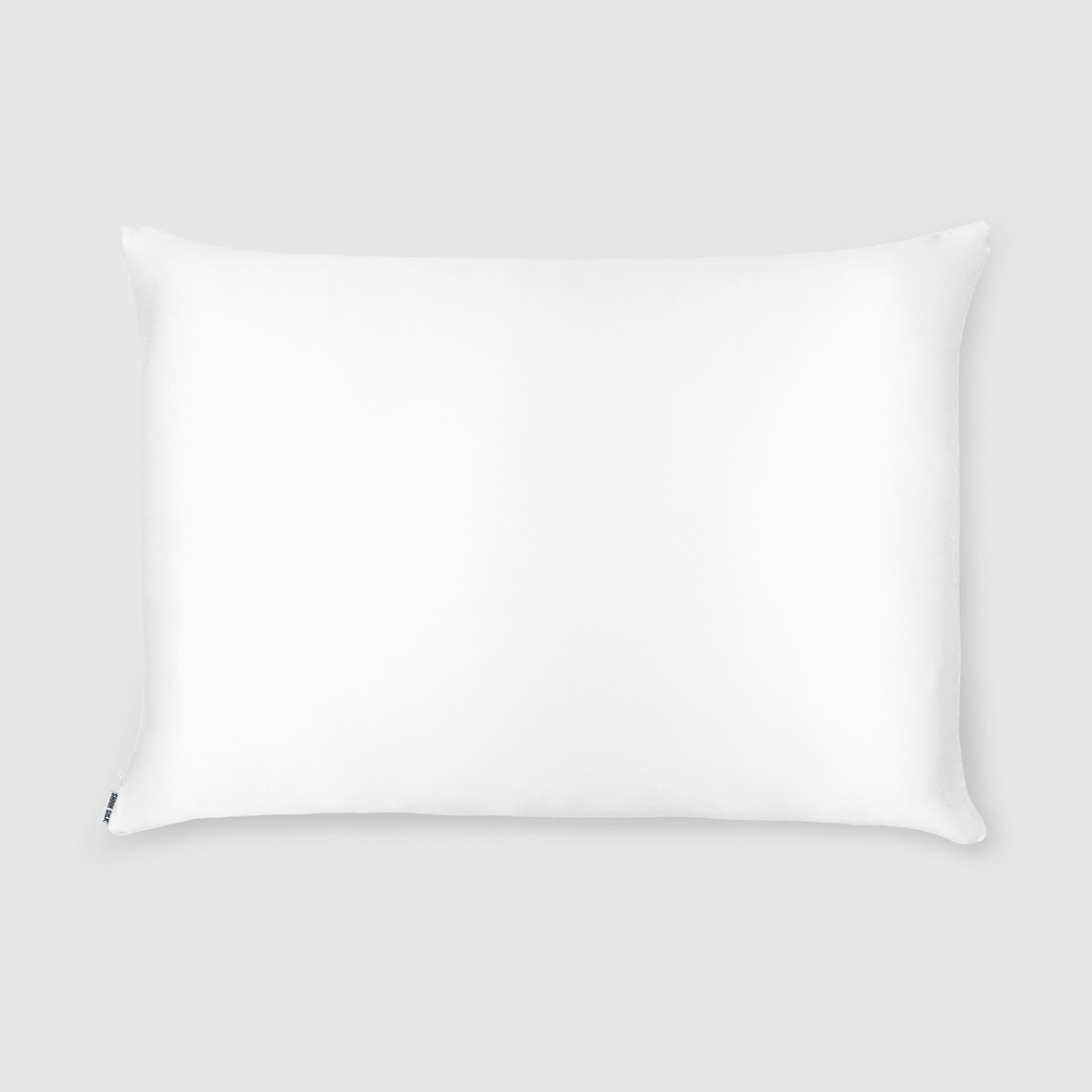 Shh Silk - Pure White 25 Momme Silk Pillowcase