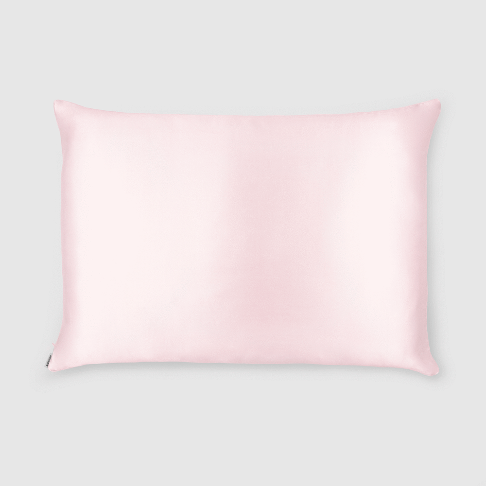 Shh Silk - Pink Silk Pillowcase