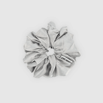 Shh Silk - Grey Silk Scrunchie